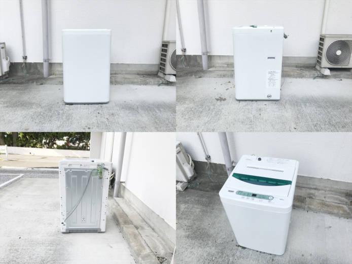 ハーブリラックスヤマダ電機4.5キロ縦型洗濯機詳細画像3