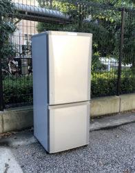 三菱コンパクト2ドア冷蔵庫ラウンドカット