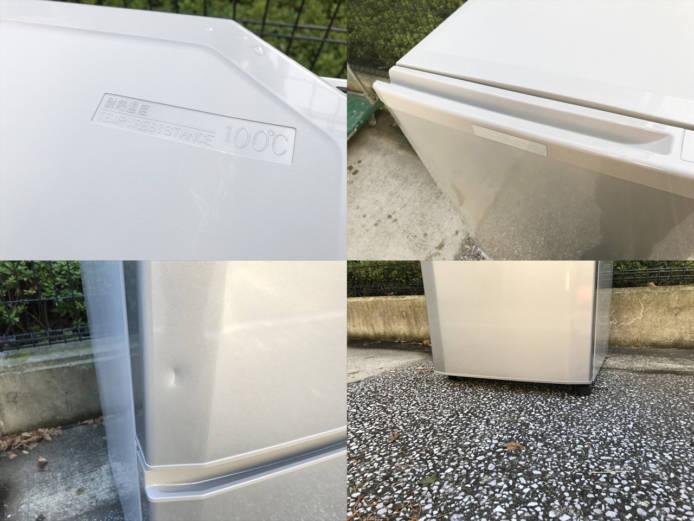 三菱コンパクト2ドア冷蔵庫ラウンドカット詳細画像3