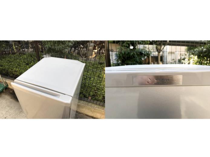 三菱コンパクト2ドア冷蔵庫ラウンドカット詳細画像5