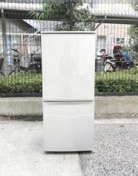 シャープ137L2ドア冷蔵庫どっちでもドア