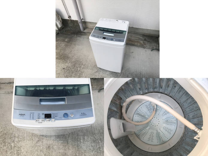 アクア全自動洗濯機AQW-S50E詳細画像3