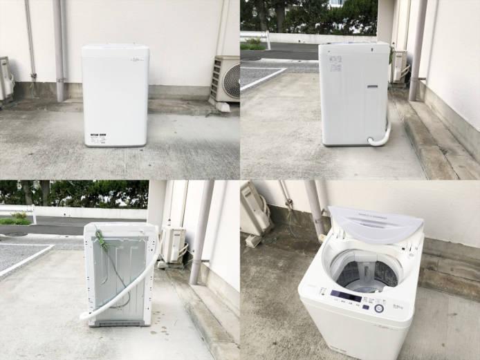 シャープ5.5キロ全自動洗濯機時短コース搭載詳細画像4