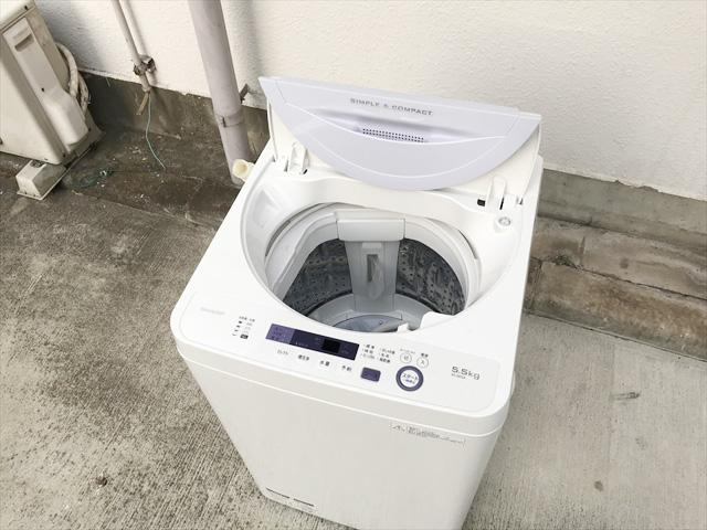 5.5キロ全自動洗濯機時短コース搭載