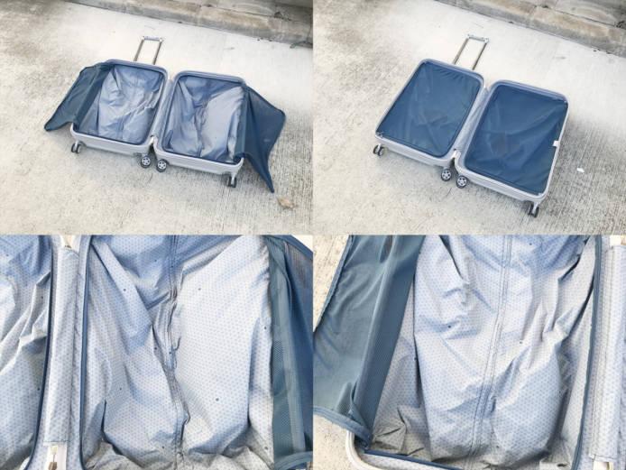 デルセーチュネーレ68リットルスーツケース詳細画像1