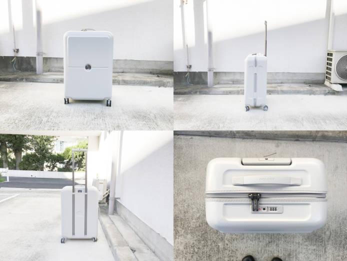 デルセーチュネーレ68リットルスーツケース詳細画像3