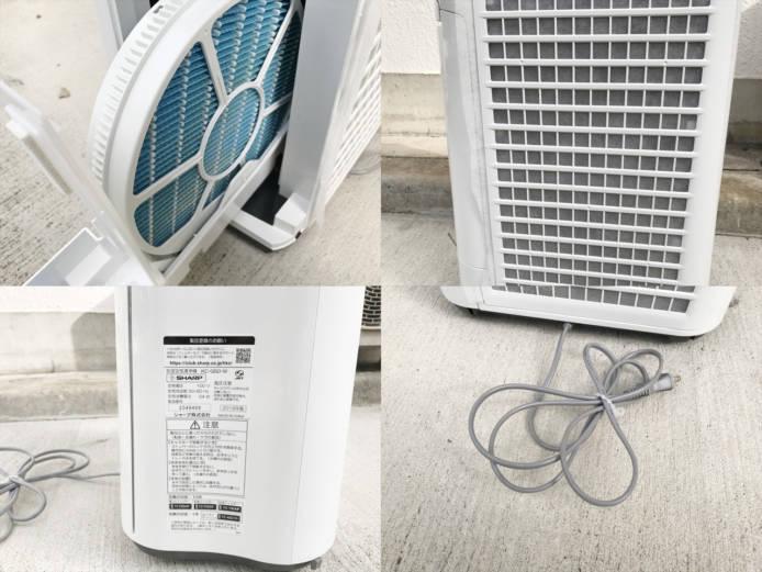 シャープ加湿空気清浄機スリムデザイン詳細画像1