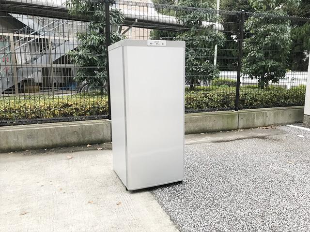 三菱1ドア冷凍庫スタイリッシュデザイン