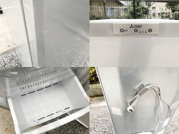 三菱1ドア冷凍庫スタイリッシュデザイン詳細画像1