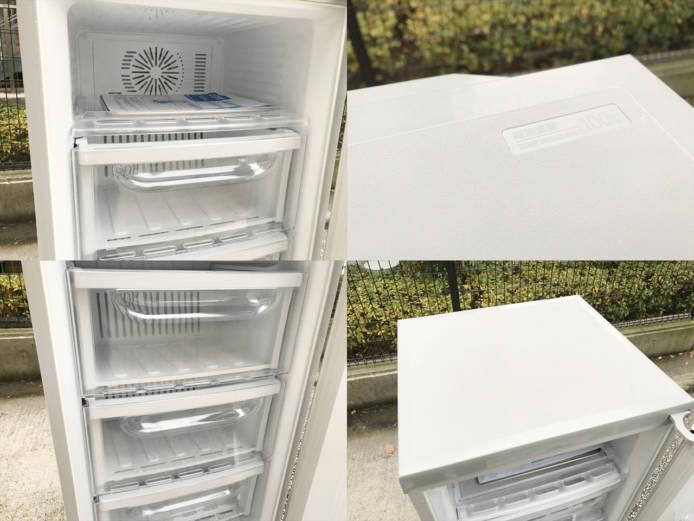 三菱1ドア冷凍庫スタイリッシュデザイン詳細画像3