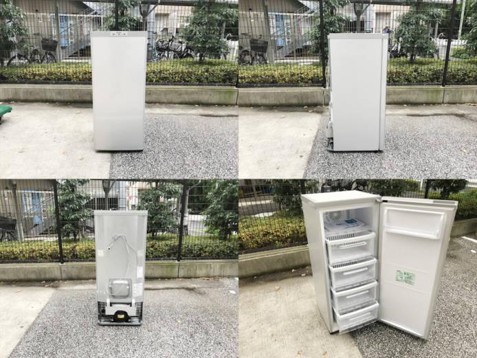 三菱1ドア冷凍庫スタイリッシュデザイン詳細画像4