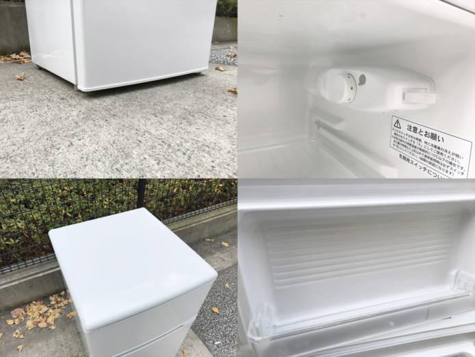 ユーイング2ドア冷蔵庫88リットル直冷式詳細画像3
