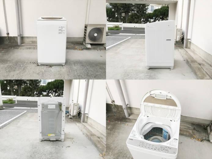 東芝6キロ洗濯機2017年製パワフル洗浄詳細画像3