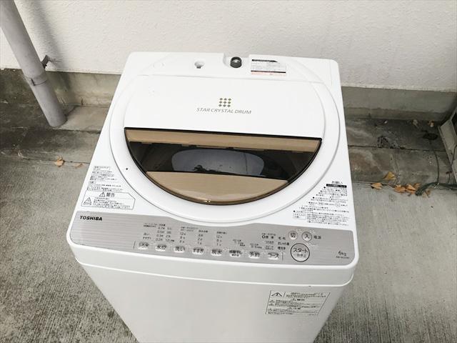 6キロ洗濯機2017年製パワフル洗浄