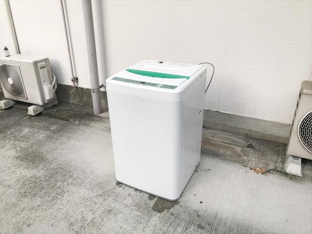 ヤマダ電機ハーブリラックス7キロ洗濯機ドライコース付