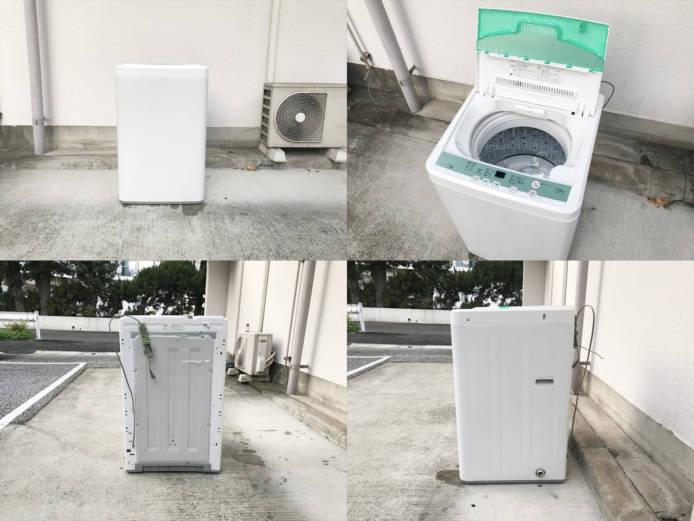 ヤマダ電機ハーブリラックス7キロ洗濯機ドライコース付詳細画像3