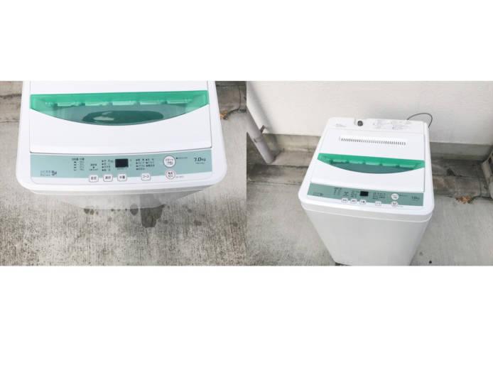 ヤマダ電機ハーブリラックス7キロ洗濯機ドライコース付詳細画像4