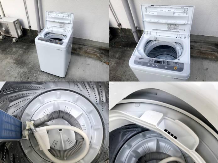 パナソニック6キロ洗濯機2019年製シングルタイプ詳細画像3