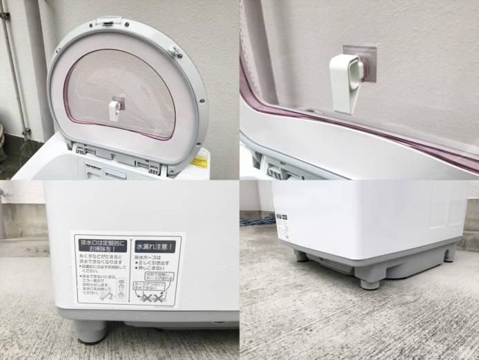 シャープ洗濯乾燥機8キロプラズマクラスター詳細画像2