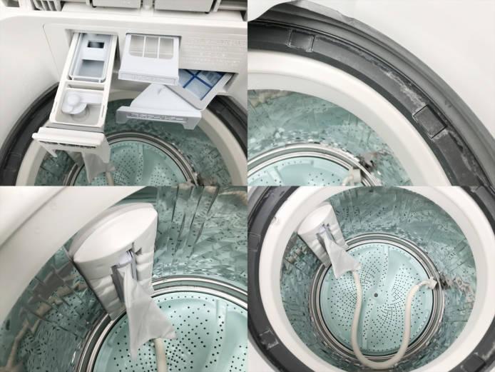 シャープ洗濯乾燥機8キロプラズマクラスター詳細画像3