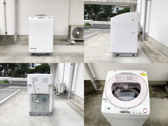 シャープ洗濯乾燥機8キロプラズマクラスター詳細画像4