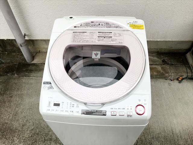 洗濯乾燥機8キロプラズマクラスター