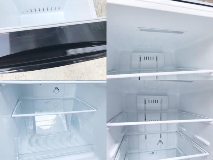 東芝2ドア冷蔵庫ピュアブラック詳細画像3