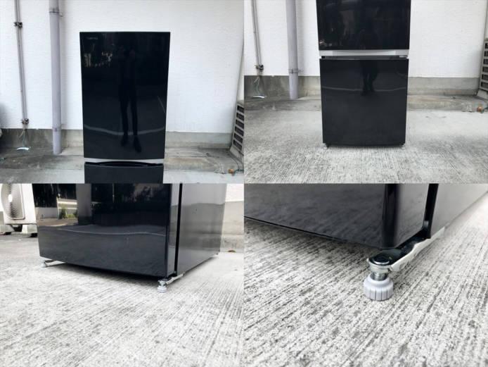 東芝2ドア冷蔵庫ピュアブラック詳細画像5