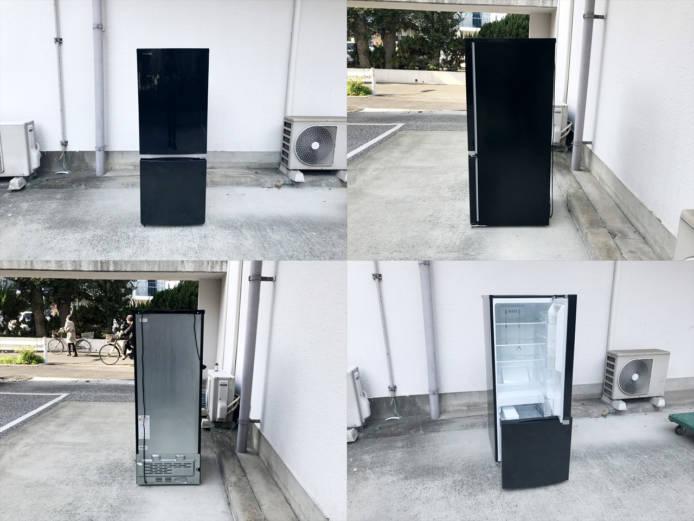 東芝2ドア冷蔵庫ピュアブラック詳細画像6