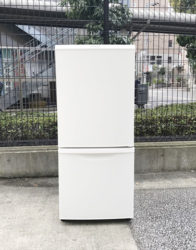 パナソニック2ドア冷蔵庫コンパクト新デザイン