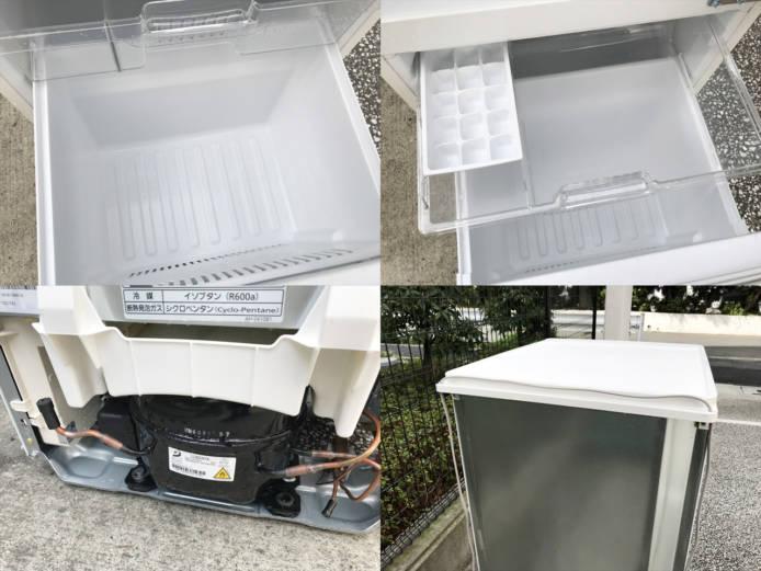 パナソニック2ドア冷蔵庫コンパクト新デザイン詳細画像1