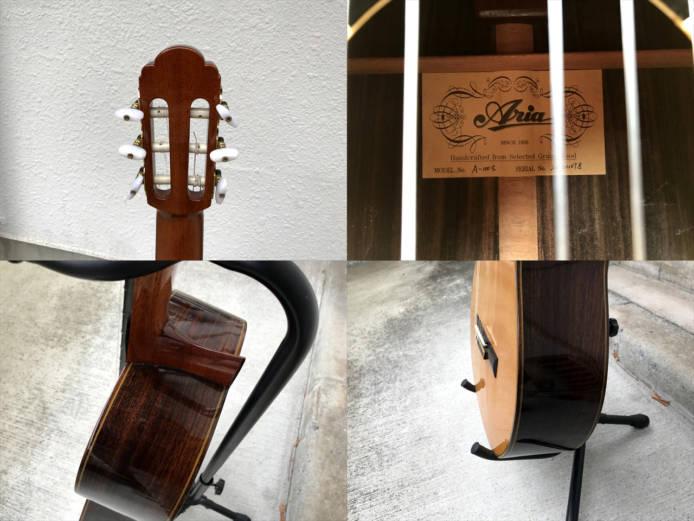 アリアクラシックギターA-100S詳細画像2
