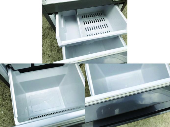 アクア2ドア冷凍冷蔵庫ブラッシュシルバー詳細画像4