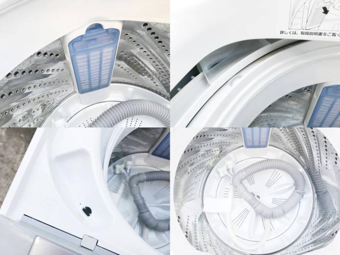 パナソニック5キロ洗濯機抗菌加工ビッグフィルター詳細画像2