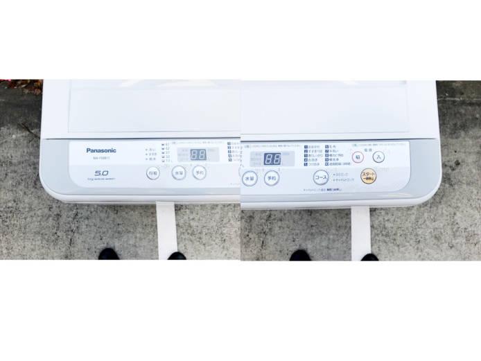パナソニック5キロ洗濯機抗菌加工ビッグフィルター詳細画像5