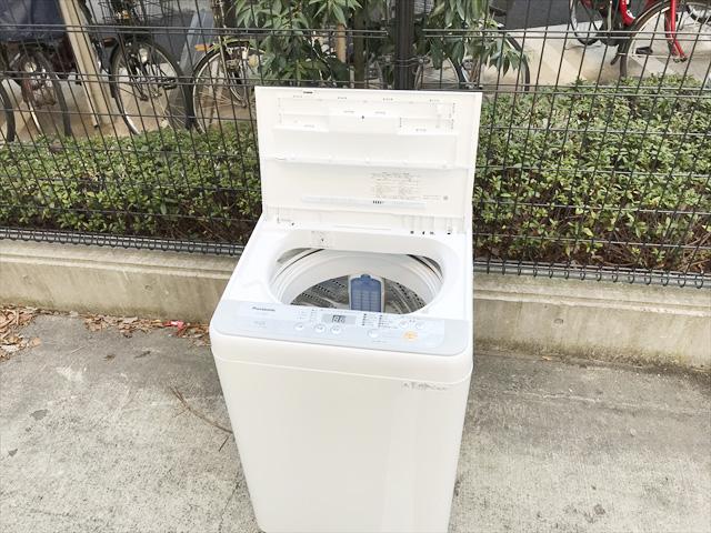 5キロ洗濯機抗菌加工ビッグフィルター