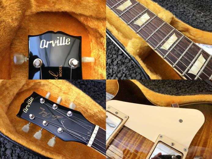 オービルレスポールスタンダードLPS-80Fギター詳細画像6