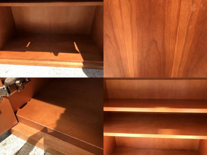 日進木工カップボードチーク材北欧デザイン詳細画像5