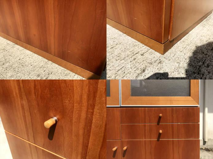 日進木工カップボードチーク材北欧デザイン詳細画像6
