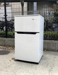 ハイセンス2ドア冷蔵冷蔵庫93リットル