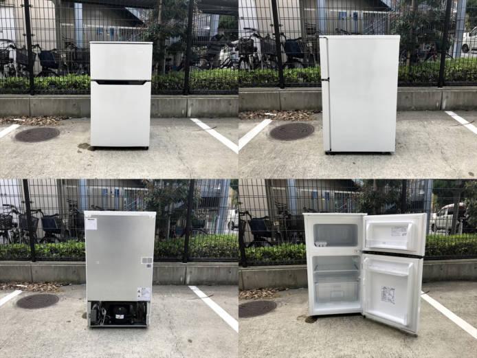 ハイセンス2ドア冷蔵冷蔵庫93リットル詳細画像6