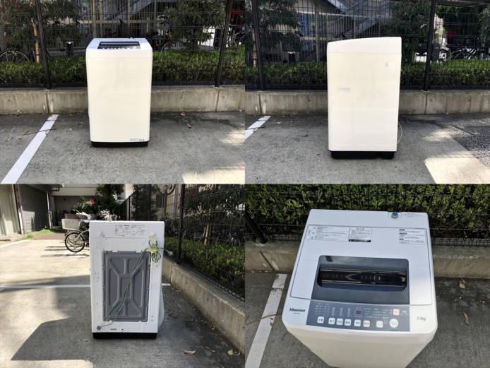 ハイセンス全自動洗濯機5.5キロスリムボディ詳細画像6