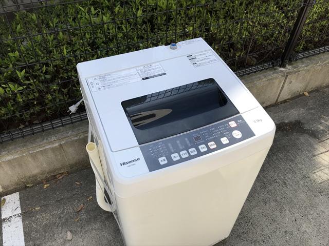 全自動洗濯機5.5キロスリムボディ
