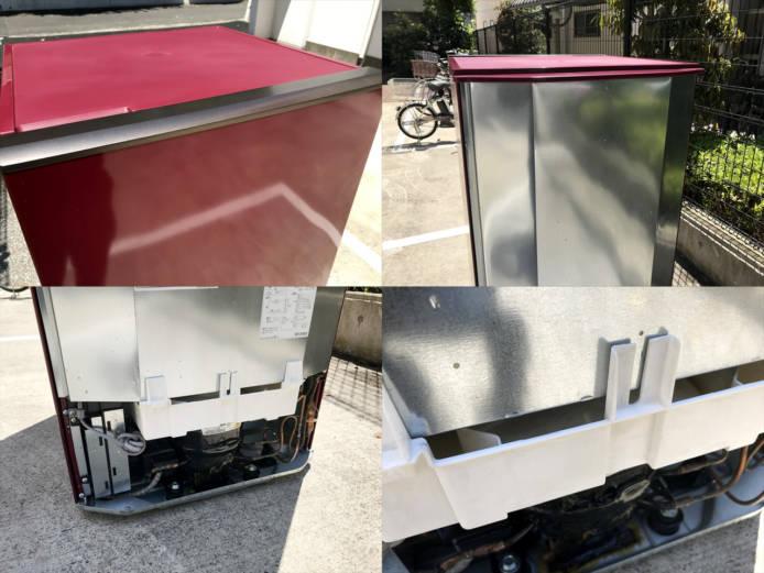 アクア2ドア冷蔵庫スマートルージュ詳細画像1