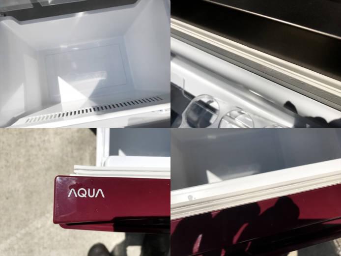 アクア2ドア冷蔵庫スマートルージュ詳細画像2
