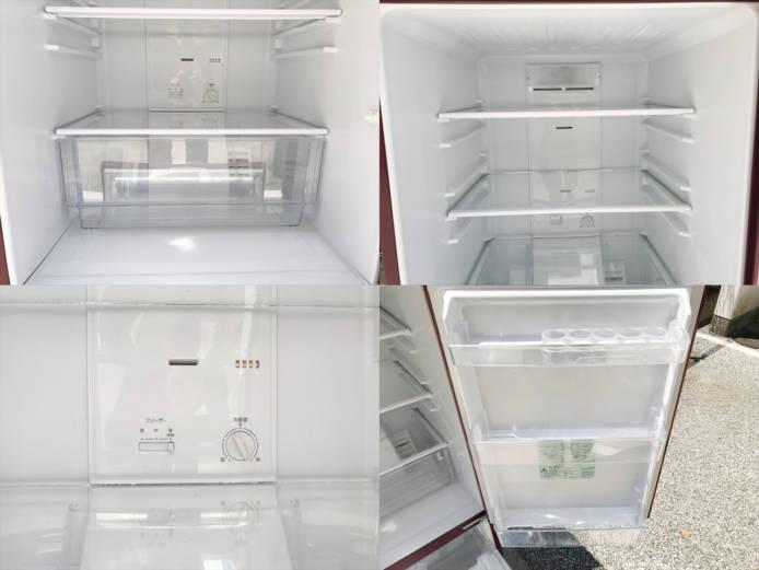 アクア2ドア冷蔵庫スマートルージュ詳細画像4