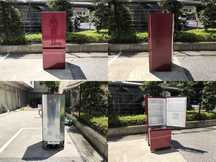 アクア2ドア冷蔵庫スマートルージュ詳細画像7