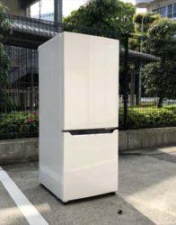 2ドア冷凍冷蔵庫2018年製