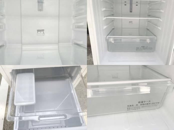 2ドア冷凍冷蔵庫2018年製詳細画像3