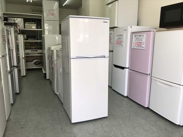アビテラックス2ドア冷蔵庫直冷式138リットル